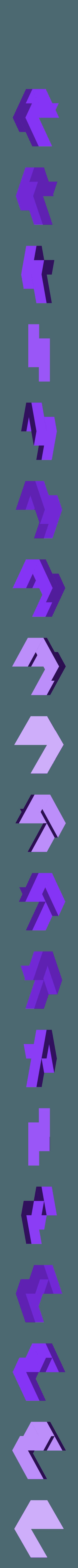 Hex_SubAssy1.stl Télécharger fichier STL gratuit Puzzle hexagonal • Modèle pour imprimante 3D, mtairymd