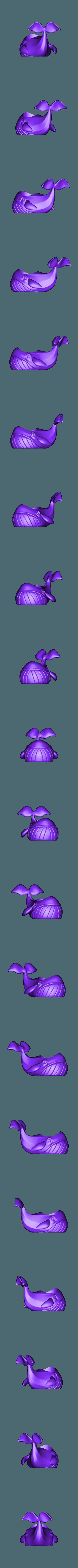 Whale_DIY.stl Télécharger fichier OBJ gratuit Pot de fleurs de baleine • Design imprimable en 3D, Dynastinae