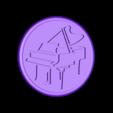 piano drinkcoaster negative_fixed.stl Download free STL file Piano drinkcoaster pair • Model to 3D print, IdeaLab