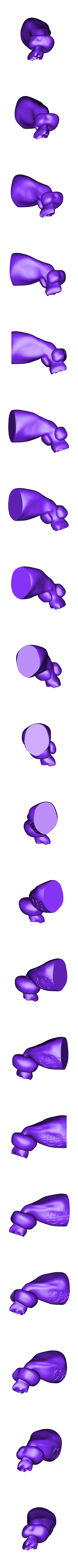 M.Krabs - Pince Gauche.stl Download free STL file Mr. Krabs • 3D printable design, BODY3D