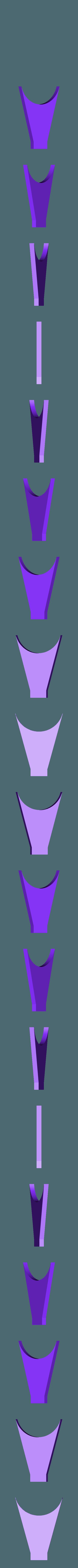 Base Front.stl Download free STL file Star Trek USS Enterprise NCC 1701 • 3D printing object, Dsk