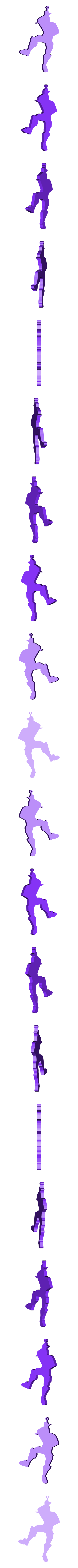 LARGATE, PRINGAO (TAKE THE L).stl Télécharger fichier STL gratuit PRENDRE LE PORTE-CLÉS L - FORTNITE DANCE • Design pour imprimante 3D, MagnusBee