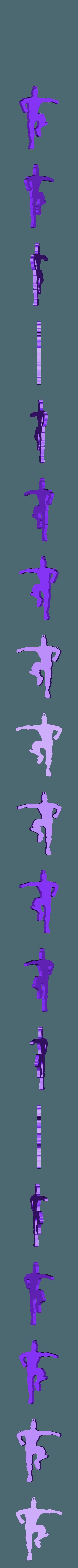 BAILECITO (BEST MATES).stl Télécharger fichier STL gratuit BEST MATES - PORTE-CLÉS FORTNITE DANCE • Modèle pour impression 3D, MagnusBee