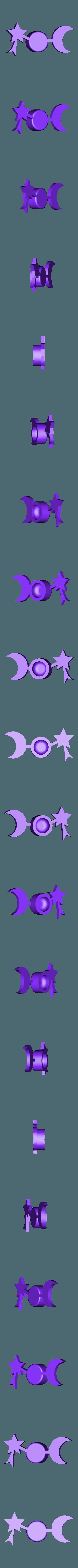 lune-étoile.stl Télécharger fichier STL gratuit Tirelire-Vises les étoiles ! • Plan pour impression 3D, rfbat