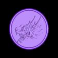 dragon drinkcoaster_fixed.stl Télécharger fichier STL gratuit Dessous de verre Dragonhead • Modèle pour impression 3D, IdeaLab