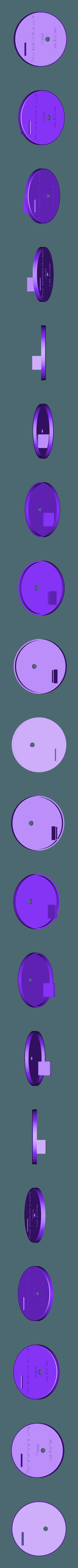 Dessus.stl Télécharger fichier STL gratuit Tirelire-Vises les étoiles ! • Plan pour impression 3D, rfbat