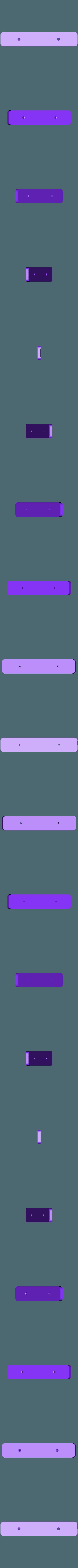 Support-3troux-percé.stl Download free STL file Modular reminder • 3D print template, rfbat