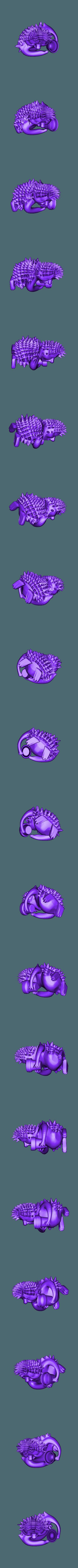 Ежик.stl Download free STL file Hedgehog • 3D print object, MaKsi3D