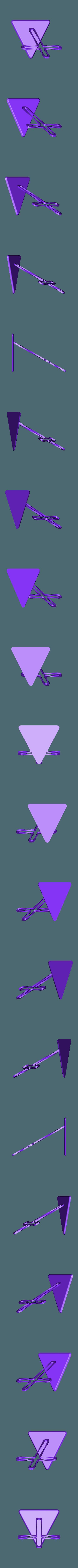 Twist.STL Télécharger fichier STL gratuit Trunkey創吉藝 光影十字架 光影十字架 STAND TWISTED CROSS (Jesus Christ) • Design à imprimer en 3D, Trunkey