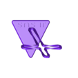 Name_cross.STL Télécharger fichier STL gratuit Trunkey創吉藝 光影十字架 光影十字架 STAND TWISTED CROSS (Jesus Christ) • Design à imprimer en 3D, Trunkey