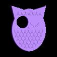 hibou-judas-oeilleton.stl Télécharger fichier STL gratuit Hibou - œilleton / judas de porte • Objet pour impression 3D, nicotintin35
