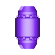 CanonPod_Left.stl Download STL file Hammond's Wrecking Ball Mech from Overwatch • 3D printer template, FunbieStudios