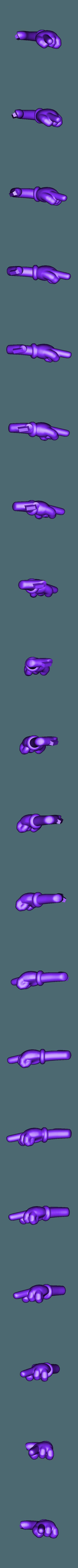MM'S Jaune - Bras Gauche.stl Télécharger fichier STL gratuit Jaune - MM's • Design pour impression 3D, BODY3D