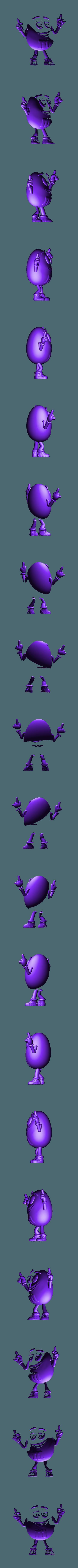 MM'S Jaune - Full.stl Télécharger fichier STL gratuit Jaune - MM's • Design pour impression 3D, BODY3D