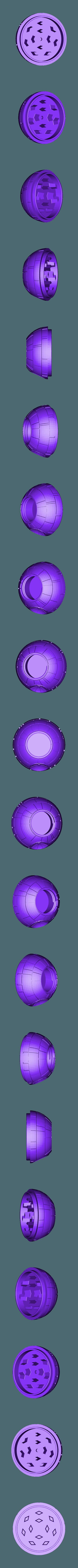 Todesstern Grinder 2.STL Télécharger fichier STL gratuit Deadstar Grinder V2 • Plan à imprimer en 3D, SLIDES