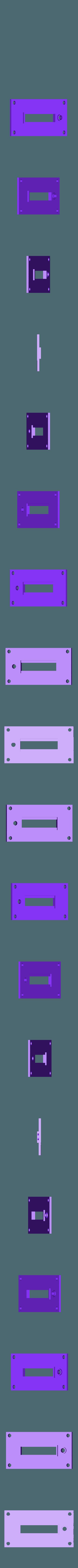 front_bargraph_plate-LIP.stl Télécharger fichier STL gratuit Ghostbuster Ghostbuster Ghosttrap • Modèle pour impression 3D, SLIDES