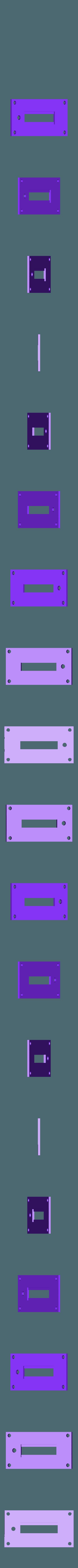 front_bargraph_plate-NO_LIP.stl Télécharger fichier STL gratuit Ghostbuster Ghostbuster Ghosttrap • Modèle pour impression 3D, SLIDES