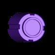knob-front_round_x2.stl Télécharger fichier STL gratuit Ghostbuster Ghostbuster Ghosttrap • Modèle pour impression 3D, SLIDES