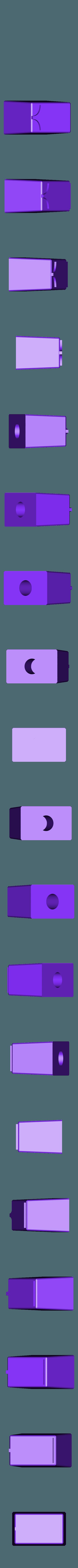 knob-front_square_x2.stl Télécharger fichier STL gratuit Ghostbuster Ghostbuster Ghosttrap • Modèle pour impression 3D, SLIDES