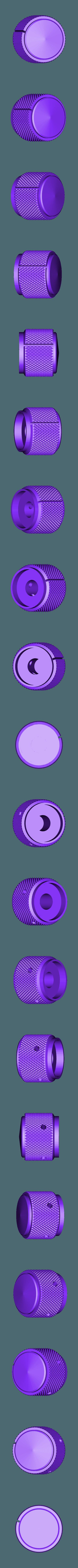 knob-side_metal_knurl_GB2.stl Télécharger fichier STL gratuit Ghostbuster Ghostbuster Ghosttrap • Modèle pour impression 3D, SLIDES