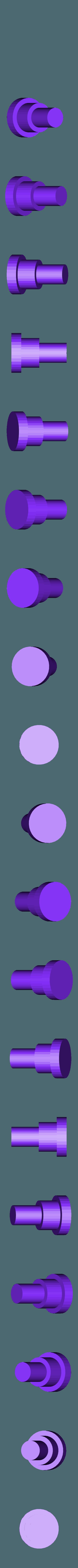 knob-side_POST_x2.stl Télécharger fichier STL gratuit Ghostbuster Ghostbuster Ghosttrap • Modèle pour impression 3D, SLIDES