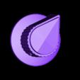 knob-side_skirted.stl Télécharger fichier STL gratuit Ghostbuster Ghostbuster Ghosttrap • Modèle pour impression 3D, SLIDES