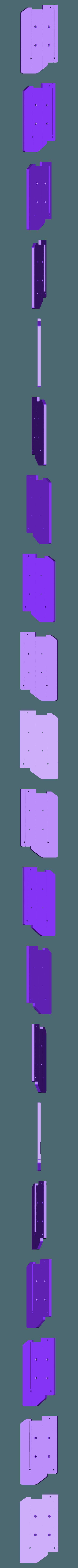 side_LT_panel_CUT_REAR.stl Télécharger fichier STL gratuit Ghostbuster Ghostbuster Ghosttrap • Modèle pour impression 3D, SLIDES