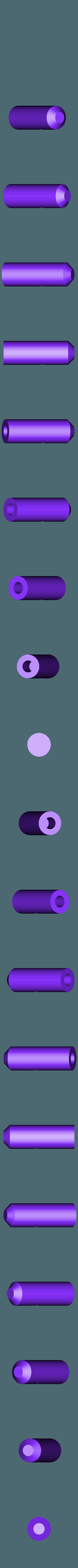 side_LT_rod_HALF_x4.stl Télécharger fichier STL gratuit Ghostbuster Ghostbuster Ghosttrap • Modèle pour impression 3D, SLIDES