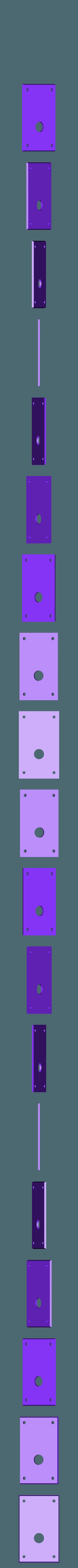 side_RT_alum_plate_SM.stl Télécharger fichier STL gratuit Ghostbuster Ghostbuster Ghosttrap • Modèle pour impression 3D, SLIDES