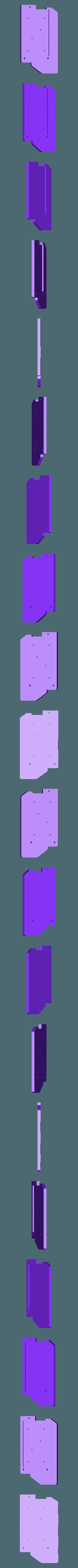 side_RT_panel_GB2_CUT_REAR.stl Télécharger fichier STL gratuit Ghostbuster Ghostbuster Ghosttrap • Modèle pour impression 3D, SLIDES