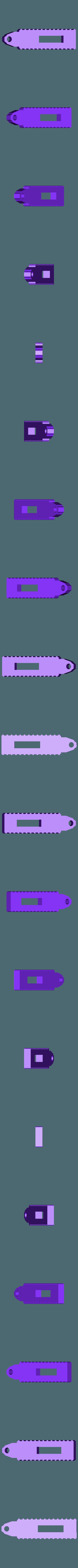 Head.stl Download free STL file Funky turtle keychain • 3D print design, DK7