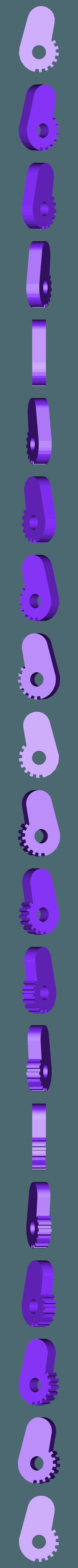 BackLeft.stl Download free STL file Funky turtle keychain • 3D print design, DK7