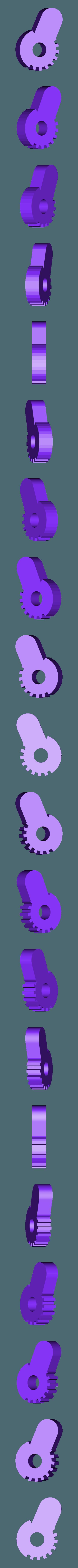 FrontLeft.stl Download free STL file Funky turtle keychain • 3D print design, DK7