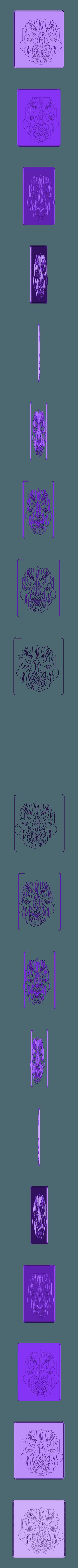 Mask.stl Télécharger fichier STL gratuit Masque • Objet pour impression 3D, Account-Closed
