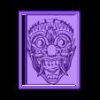 Mask.stl Télécharger fichier STL gratuit Masque Japonais • Modèle pour imprimante 3D, Account-Closed