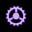 Alfawise U20 - Molette extrudeur.stl Download free STL file Alfawise U20 - Extruder wheel • 3D printing template, CBA3D