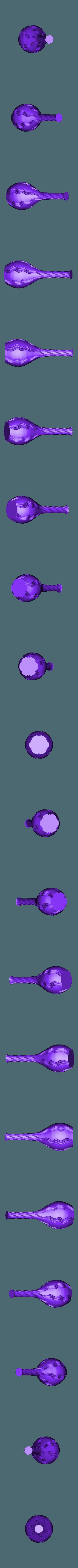 log neck vase 2.stl Télécharger fichier STL gratuit vase col long v1 et v2 • Design pour imprimante 3D, Brithawkes