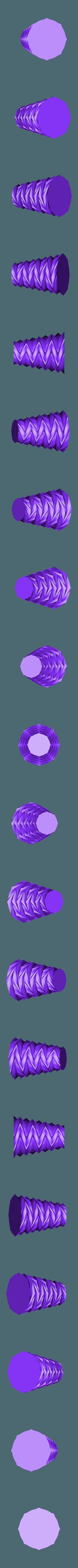 zigzag vase v1.stl Télécharger fichier STL gratuit vase en zigzag v1 • Design pour imprimante 3D, Brithawkes