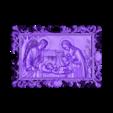 68_BirthOFJRK.stl Download free STL file Birth of jesus wall art 3d stl models for artcam and aspire • 3D printing design, Isu45-3dmodels