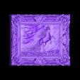 Horse in Frame 3D STL Model Updated.stl Download free STL file Horse in frame 3d stl models for artcam and aspire • 3D printable model, Isu45-3dmodels