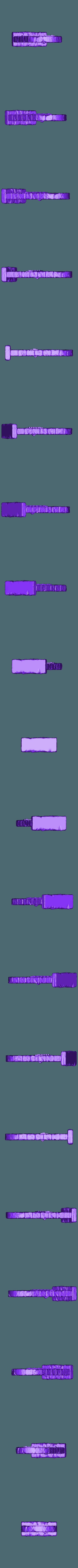 wooden_door_no_flares.stl Télécharger fichier STL gratuit Portes Donjon (Fermer) • Design à imprimer en 3D, 3DRune