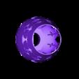 abat jour e27 1 BULLE posi support mesh.stl Download STL file bubble lamp shade • 3D printing design, motek