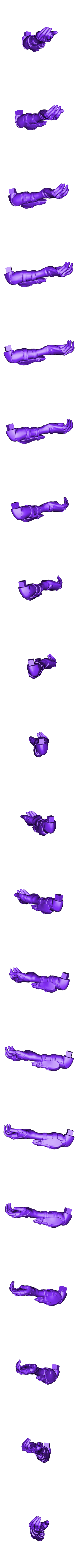 Arm_L.stl Download free STL file Ana Amari - Overwatch • 3D print template, Frazus