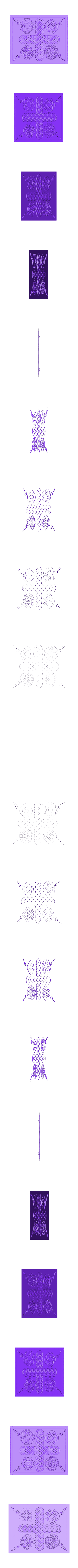 Celtic.stl Download free STL file Celtic Relief Pattern • 3D printable template, Account-Closed