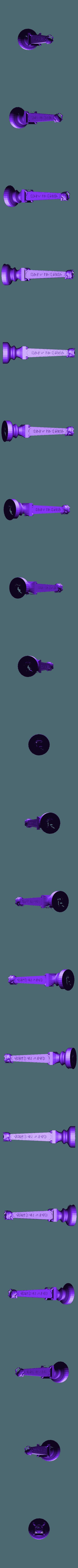 undead rook.stl Télécharger fichier STL gratuit Les échecs égyptiens : vivants ou morts • Modèle à imprimer en 3D, MartinHaurane