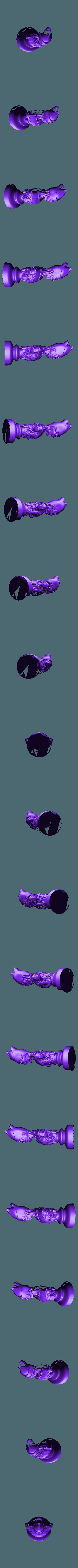 undead bishop.stl Télécharger fichier STL gratuit Les échecs égyptiens : vivants ou morts • Modèle à imprimer en 3D, MartinHaurane