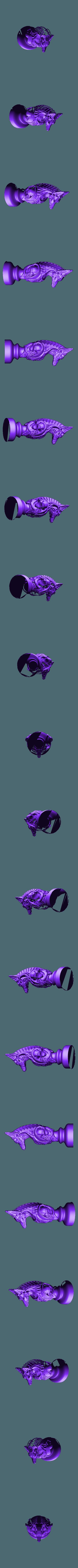 undead knight.stl Télécharger fichier STL gratuit Les échecs égyptiens : vivants ou morts • Modèle à imprimer en 3D, MartinHaurane
