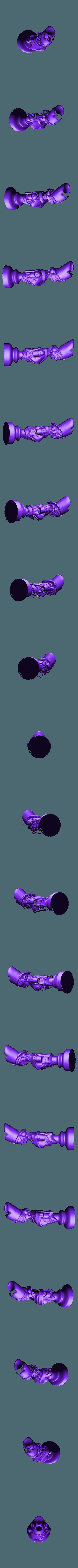 undead queen.stl Télécharger fichier STL gratuit Les échecs égyptiens : vivants ou morts • Modèle à imprimer en 3D, MartinHaurane