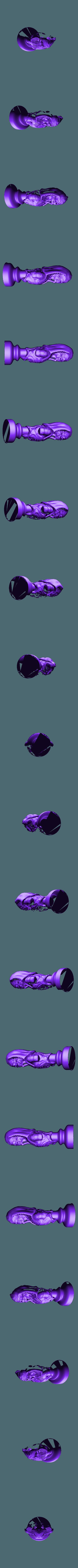 undead king.stl Télécharger fichier STL gratuit Les échecs égyptiens : vivants ou morts • Modèle à imprimer en 3D, MartinHaurane