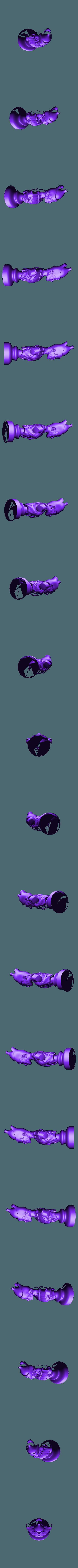 Bishop.stl Télécharger fichier STL gratuit Les échecs égyptiens : vivants ou morts • Modèle à imprimer en 3D, MartinHaurane
